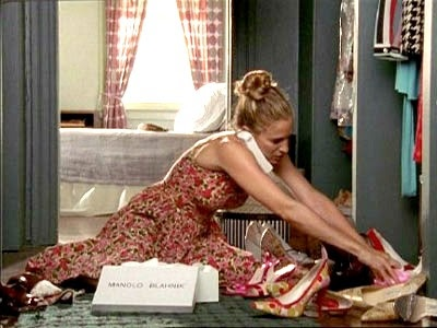 carrie with shoes