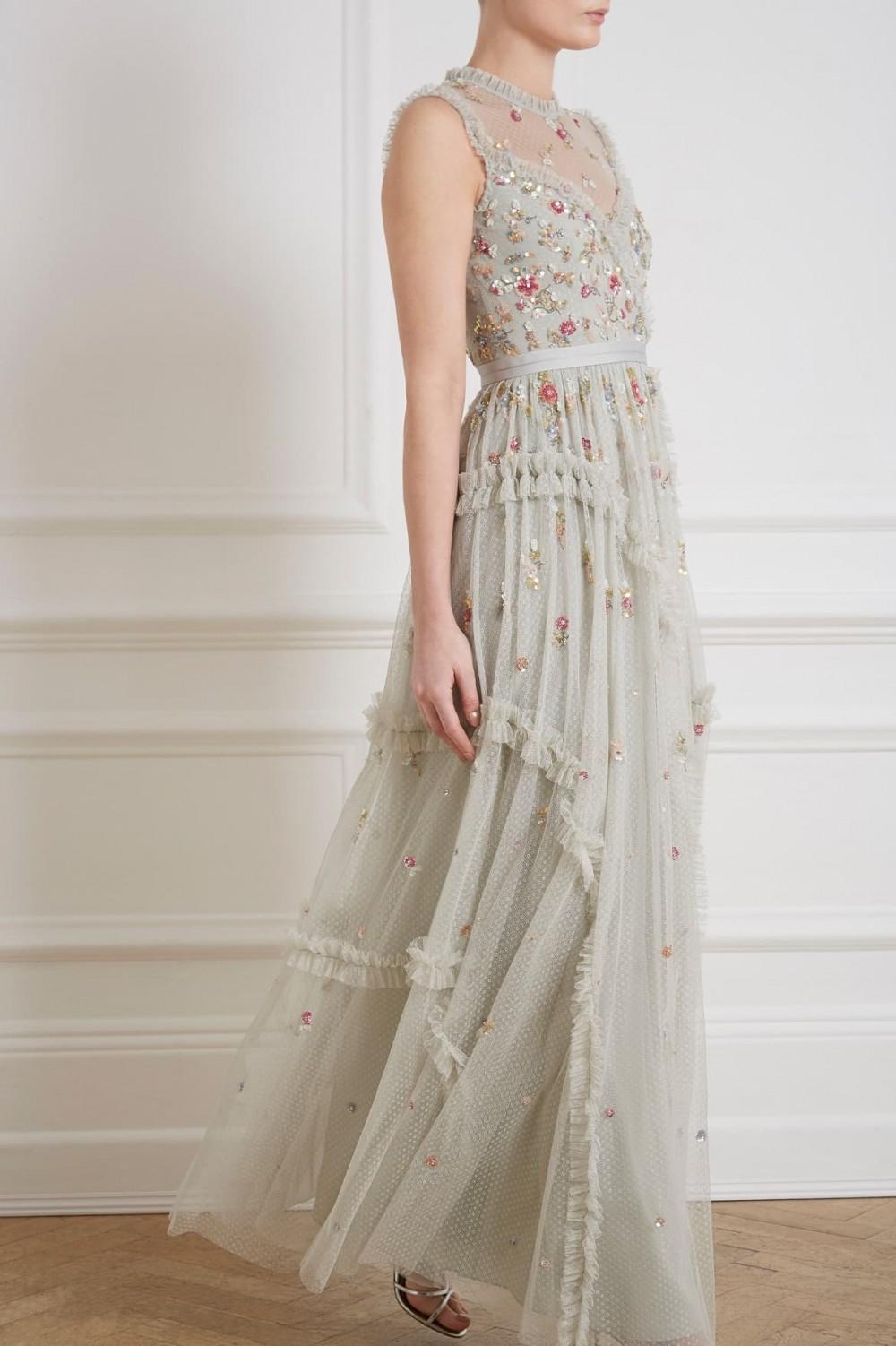 Shimmer dress style